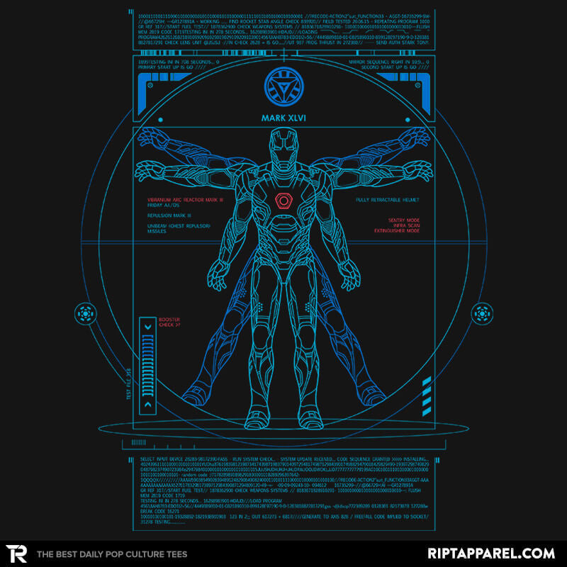 Vitruvian Stark - Collection Image - RIPT Apparel