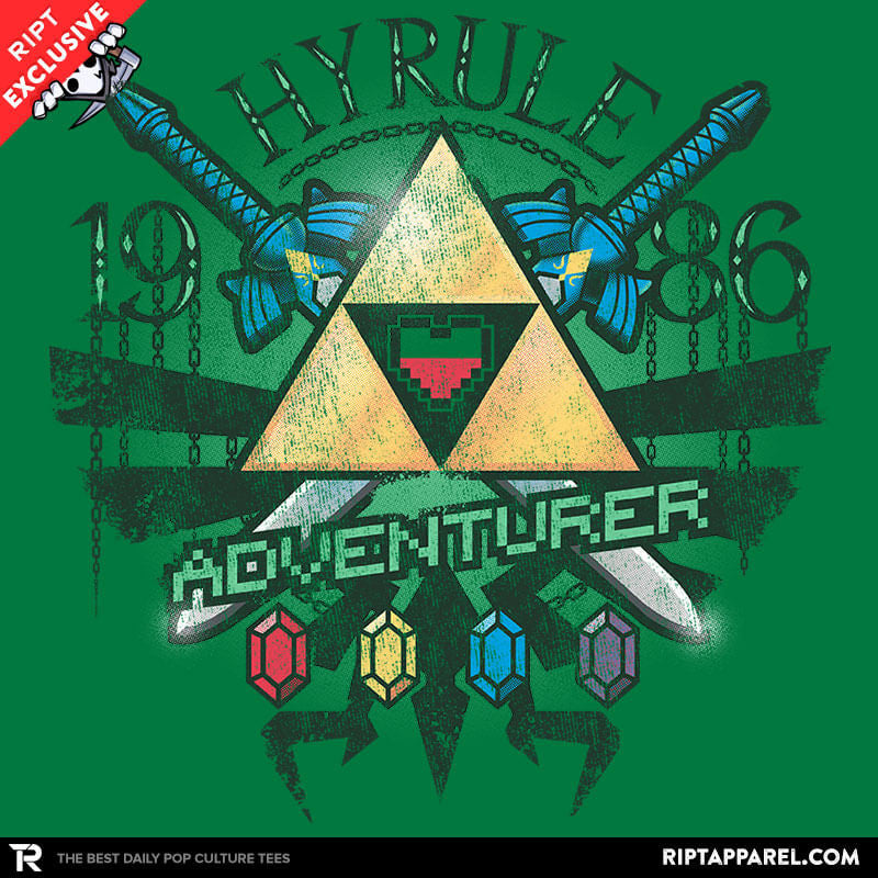 Hyrule Adventurer - Collection Image - RIPT Apparel