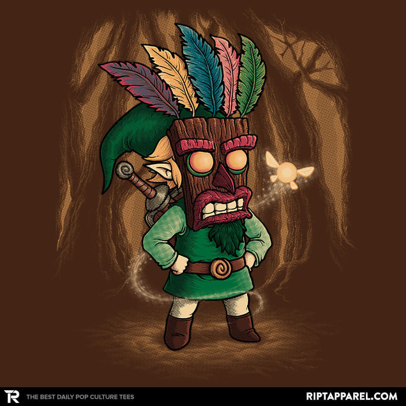 The Legend of Aku Aku Mask - Collection Image - RIPT Apparel