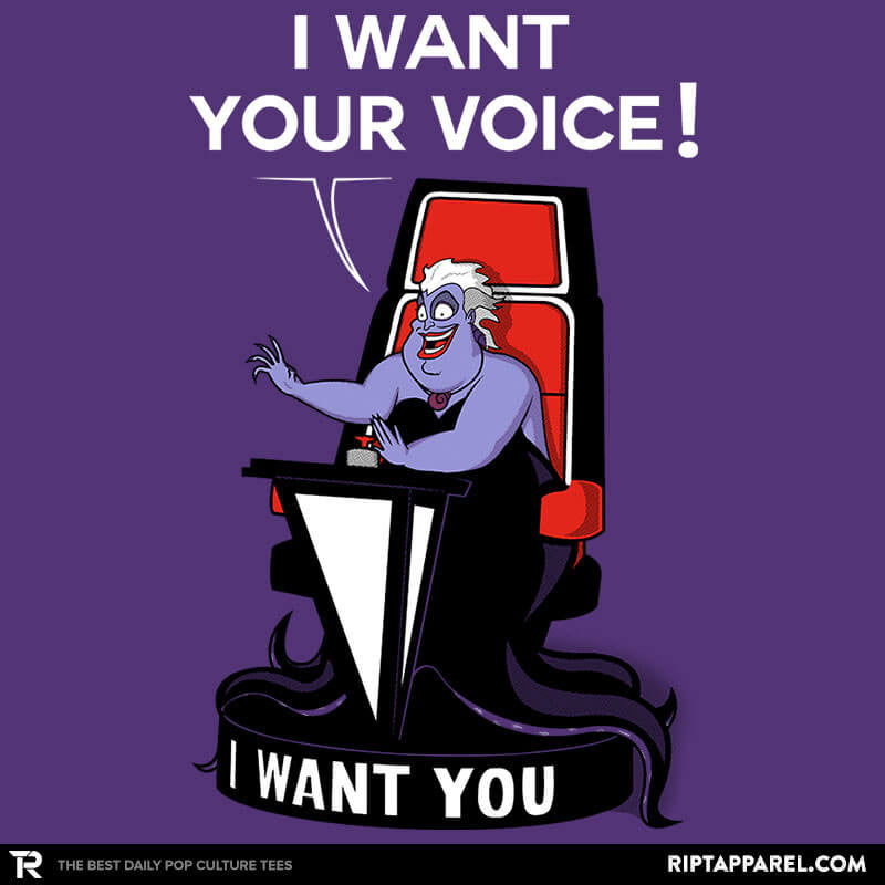 I Want Your VOICE! - Collection Image - RIPT Apparel