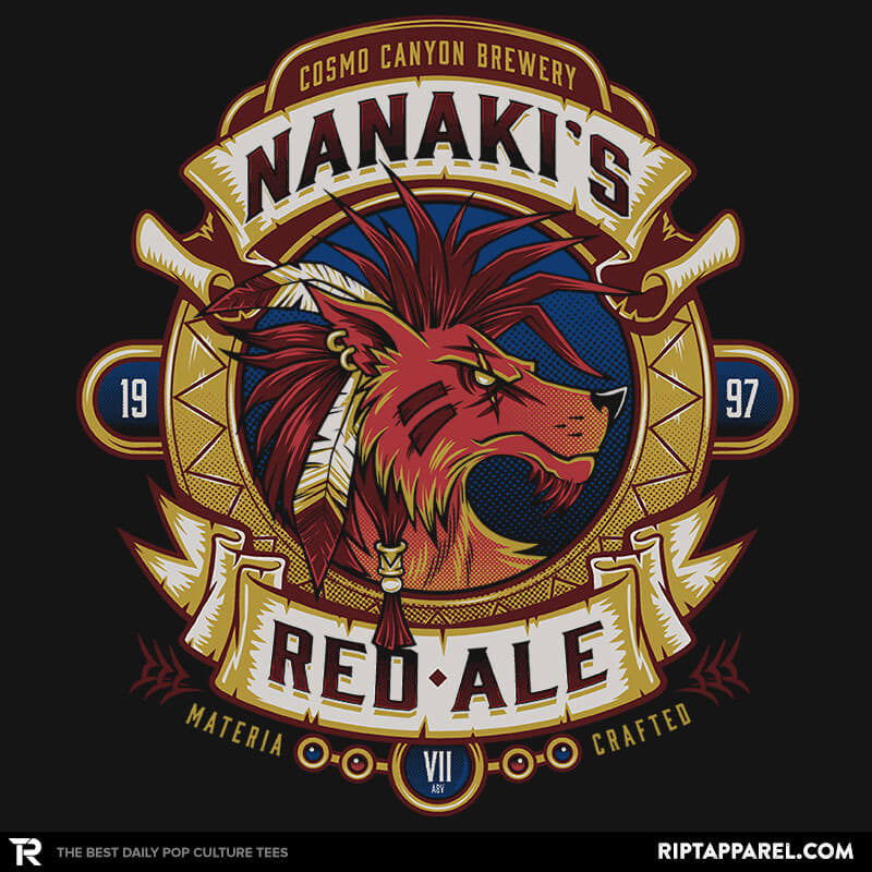 Nanaki's Red Ale - Collection Image - RIPT Apparel