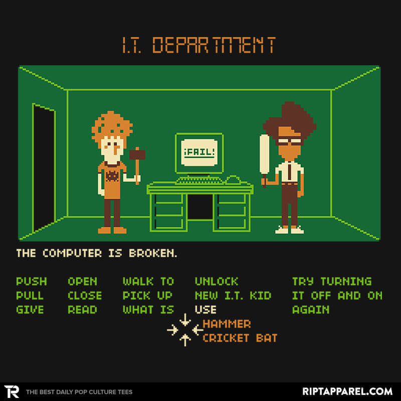 Maniac IT Department - RIPT Apparel