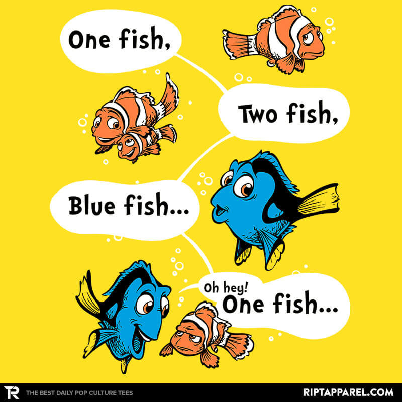 One Fish, Blue Fish - RIPT Apparel
