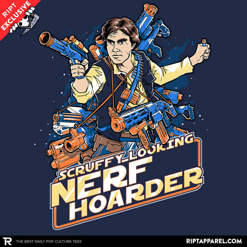Scruffy Looking Nerf Hoarder - Collection Image - RIPT Apparel