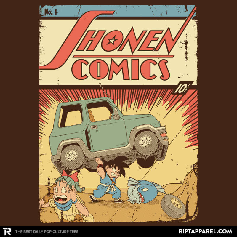 Shonen Comics - Collection Image - RIPT Apparel