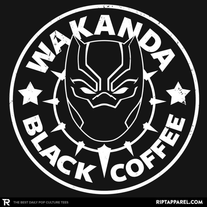 Wakanda Black Coffee - RIPT Apparel