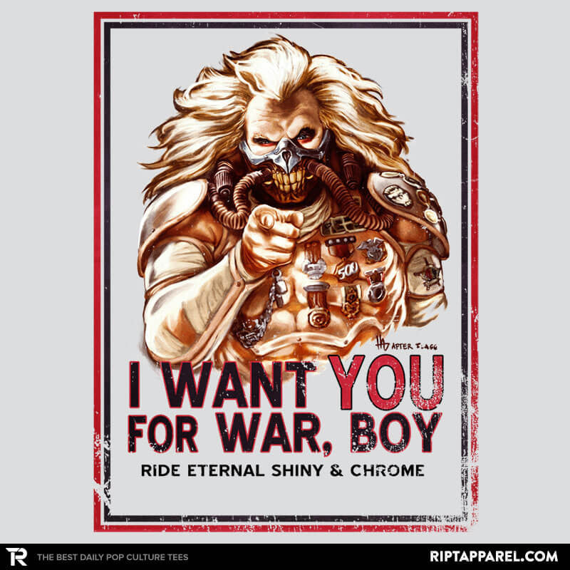 I Want You For War - Poparazzi - RIPT Apparel