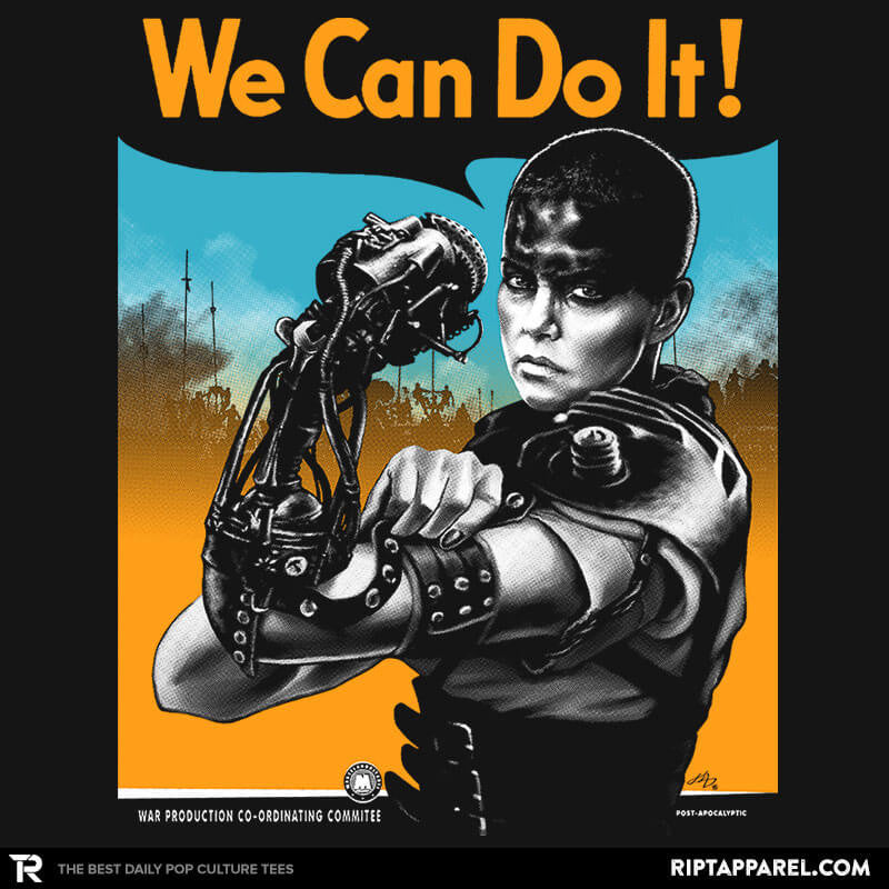 We Can Do it Furiously - Poparazzi - RIPT Apparel