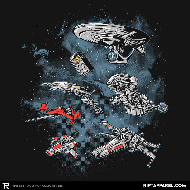 Ultimate Space Fleet Reprint - RIPT Apparel