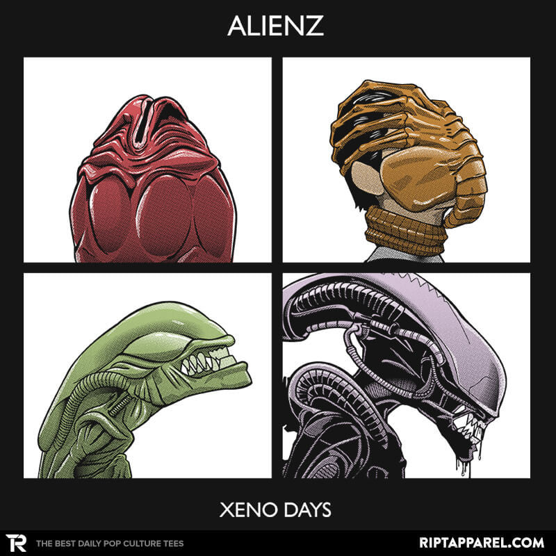 Xeno Days - Collection Image - RIPT Apparel