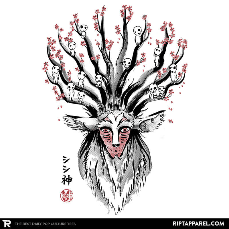 The Deer God sumi-e - Collection Image - RIPT Apparel