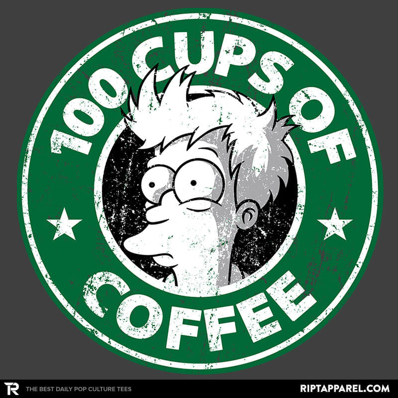 100 Cups of Coffee - Collection Image - RIPT Apparel