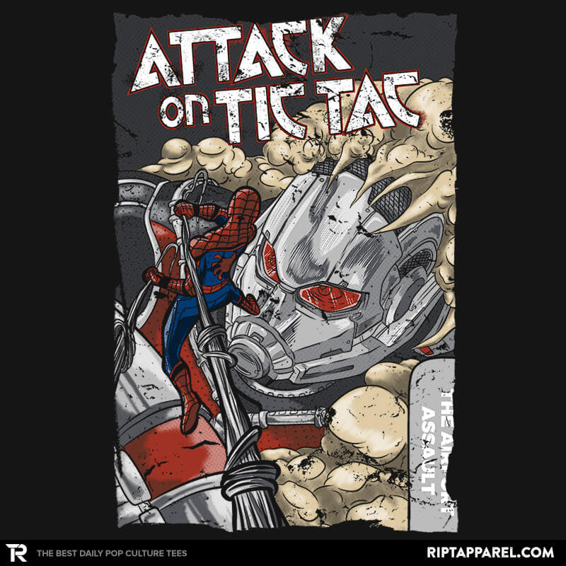 Attack on Tic Tac - RIPT Apparel