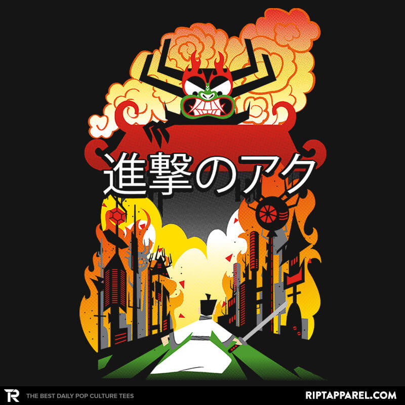 Attack on Aku - RIPT Apparel
