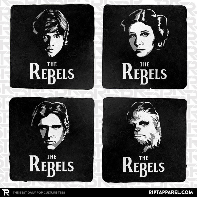 The Rebels 4-Coaster Set - Uprising - RIPT Apparel