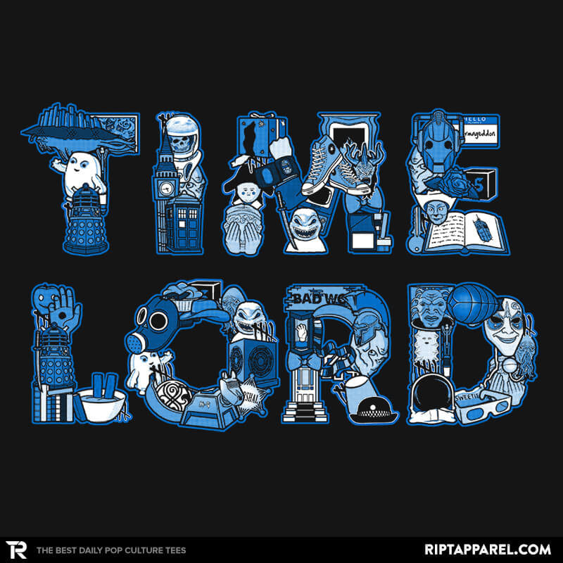 Time Lord - Uprising - RIPT Apparel