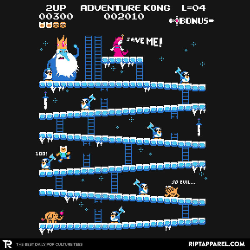 Adventure Kong Reprint - RIPT Apparel