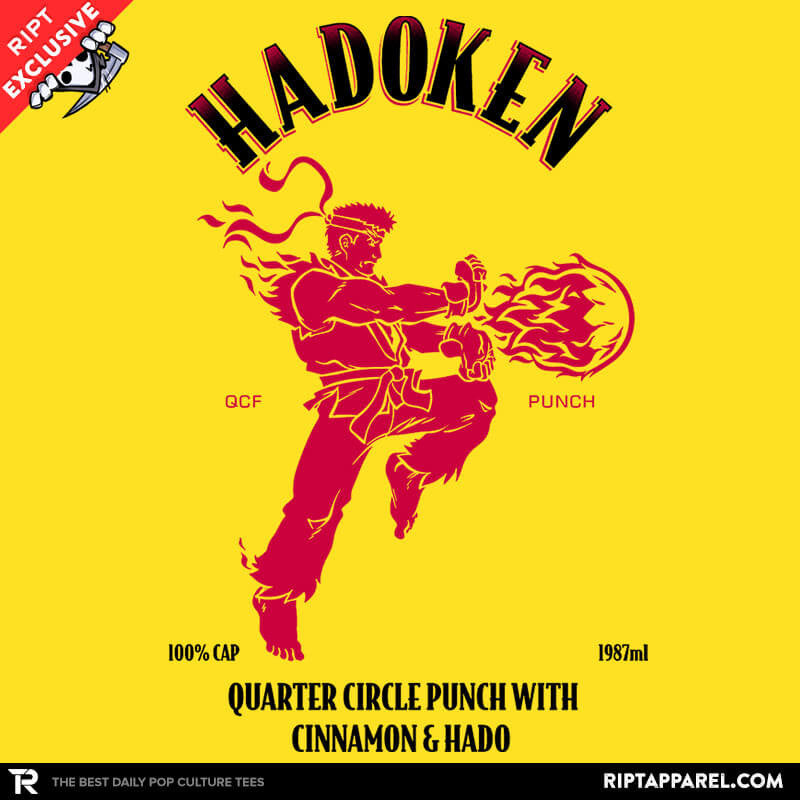 Hadoken Whiskey Exclusive - RIPT Apparel