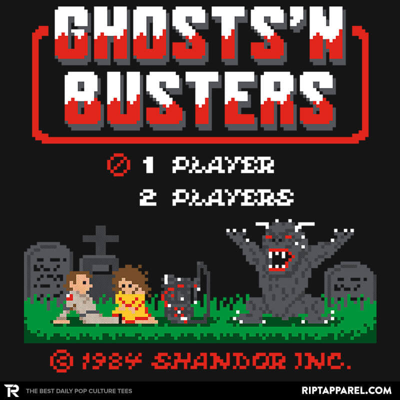 Ghosts 'N Busters - RIPT Apparel