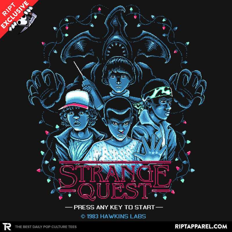 Strange Quest 1983 - Collection Image - RIPT Apparel