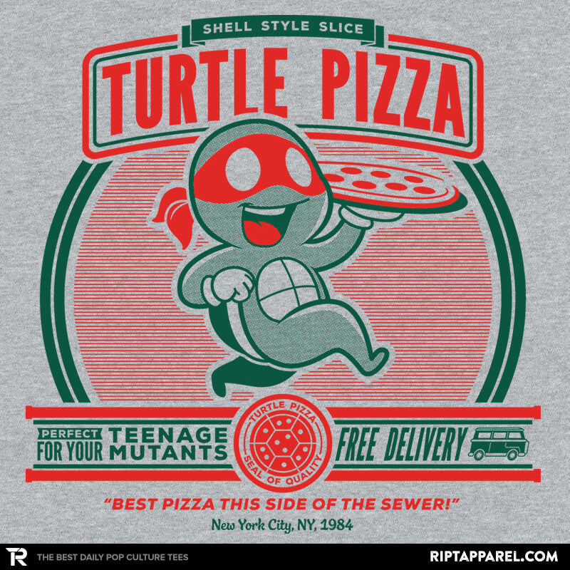 Turtle Pizza - RIPT Apparel