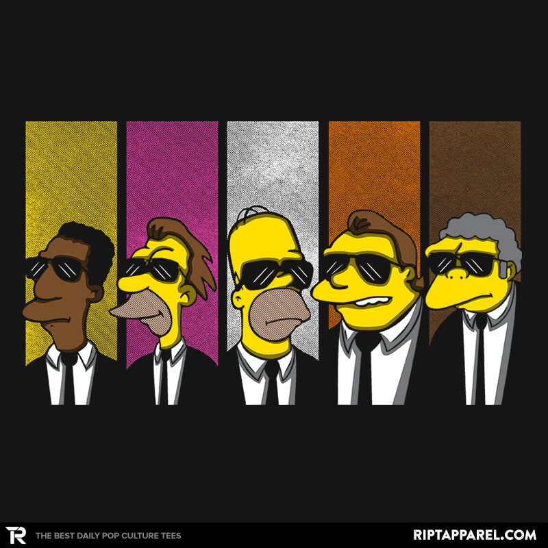 Reservoir Simpsons - Collection Image - RIPT Apparel