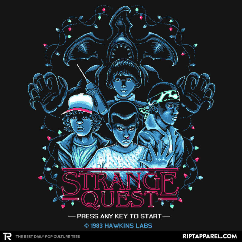 Strange Quest 1983 Exclusive - RIPT Apparel