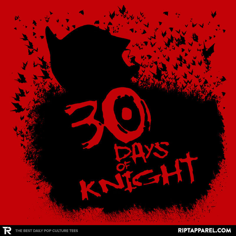 30 Days of Knight Exclusive - RIPT Apparel
