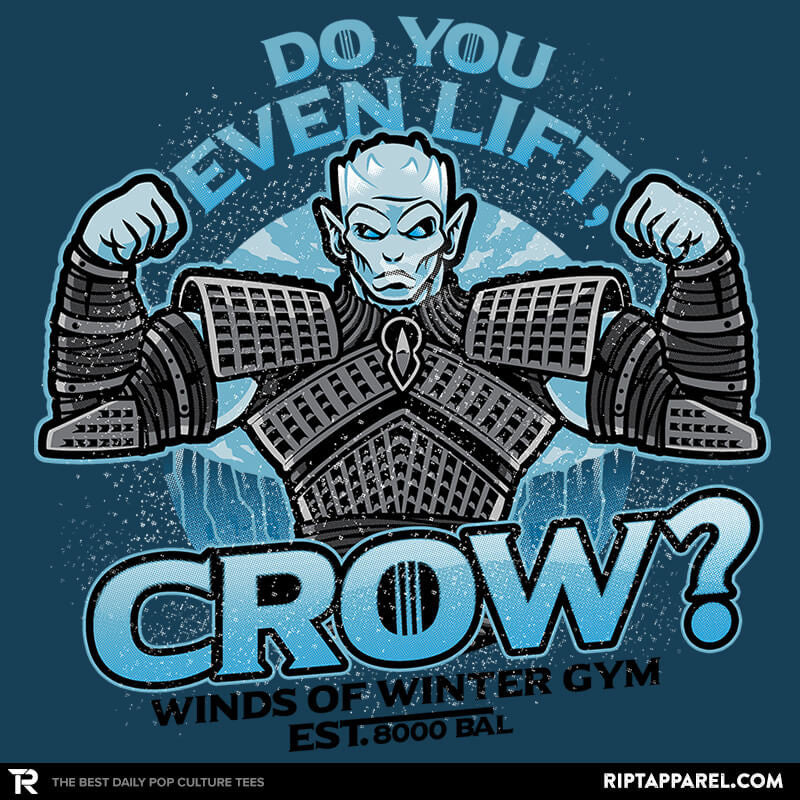 Do You Even Lift, Crow? Exclusive - RIPT Apparel