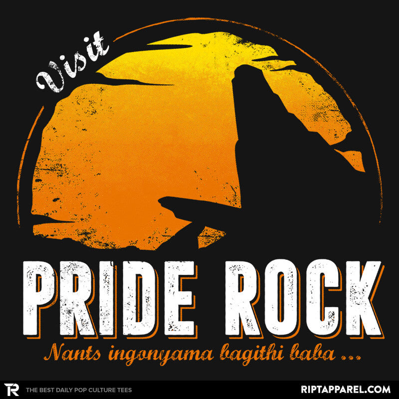Visit Pride Rock - Collection Image - RIPT Apparel