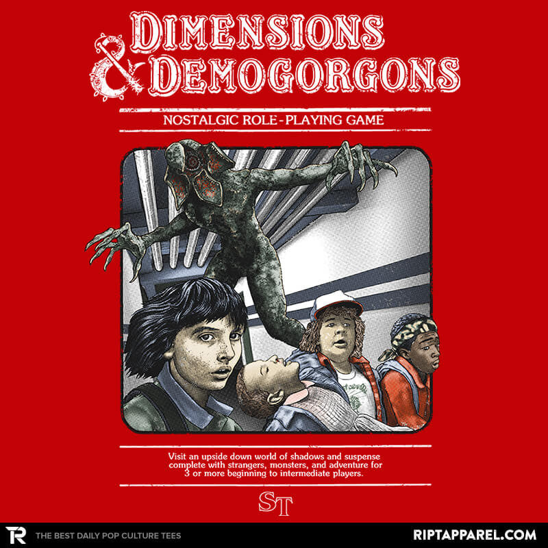 Dimensions & Demogorgons - RIPT Apparel