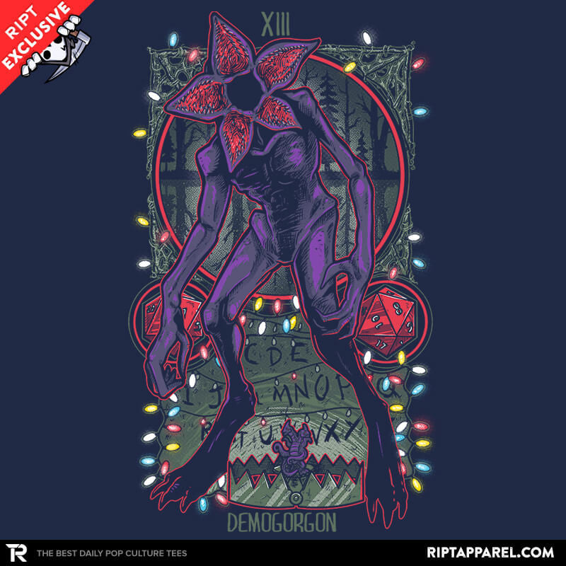 The Demogorgon Tarot Card - Collection Image - RIPT Apparel