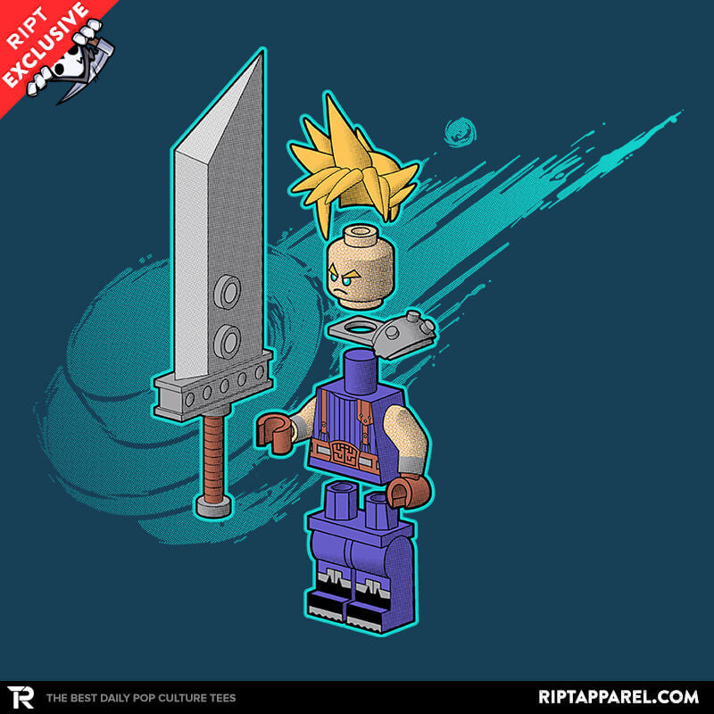The Blocky Hero of Midgar - RIPT Apparel
