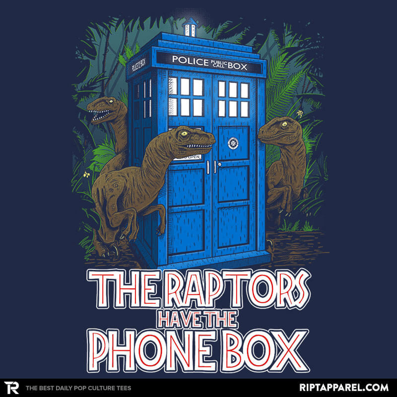 The Raptors Have the Phone Box - Bazaar - Collection Image - RIPT Apparel