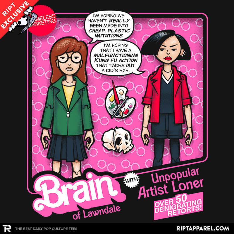 Brain of Lawndale Doll - Collection Image - RIPT Apparel