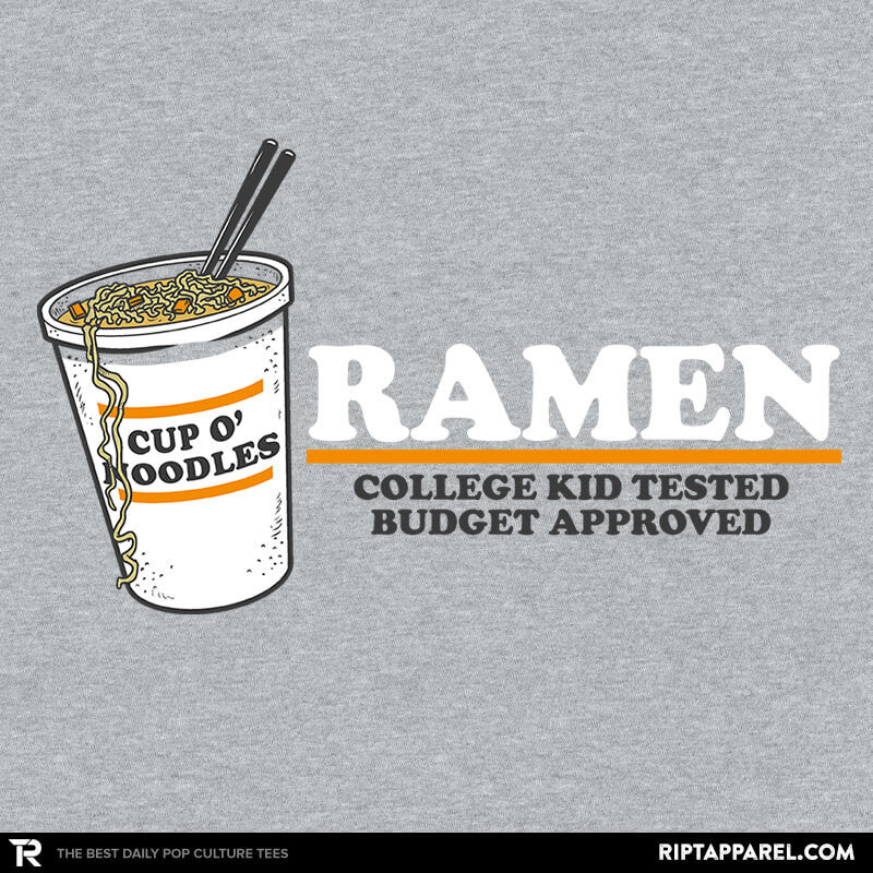 Ramen Budgest Approved Exclusive - Collection Image - RIPT Apparel