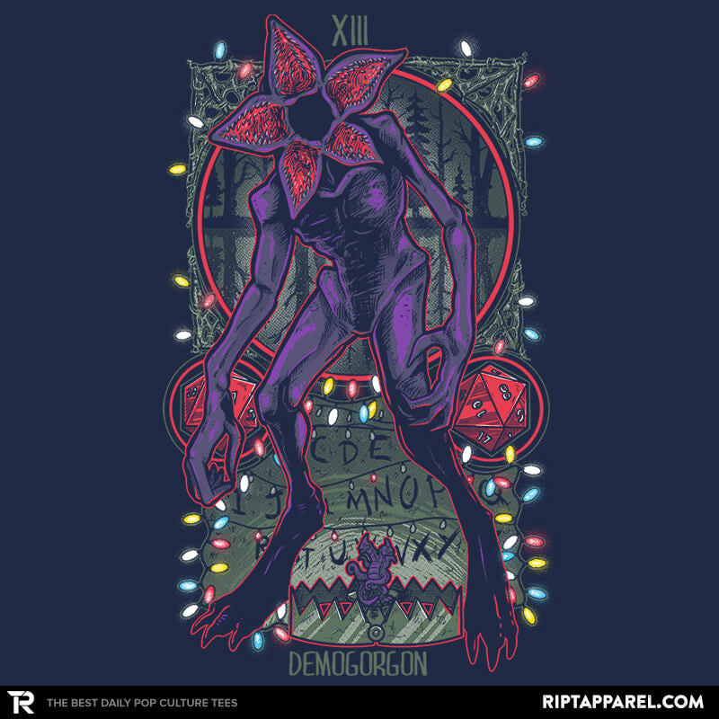 The Demogorgan Tarot Card Exclusive - Collection Image - RIPT Apparel
