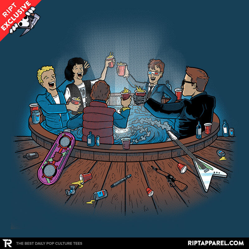 Hot Tub Time Travelers - Collection Image - RIPT Apparel