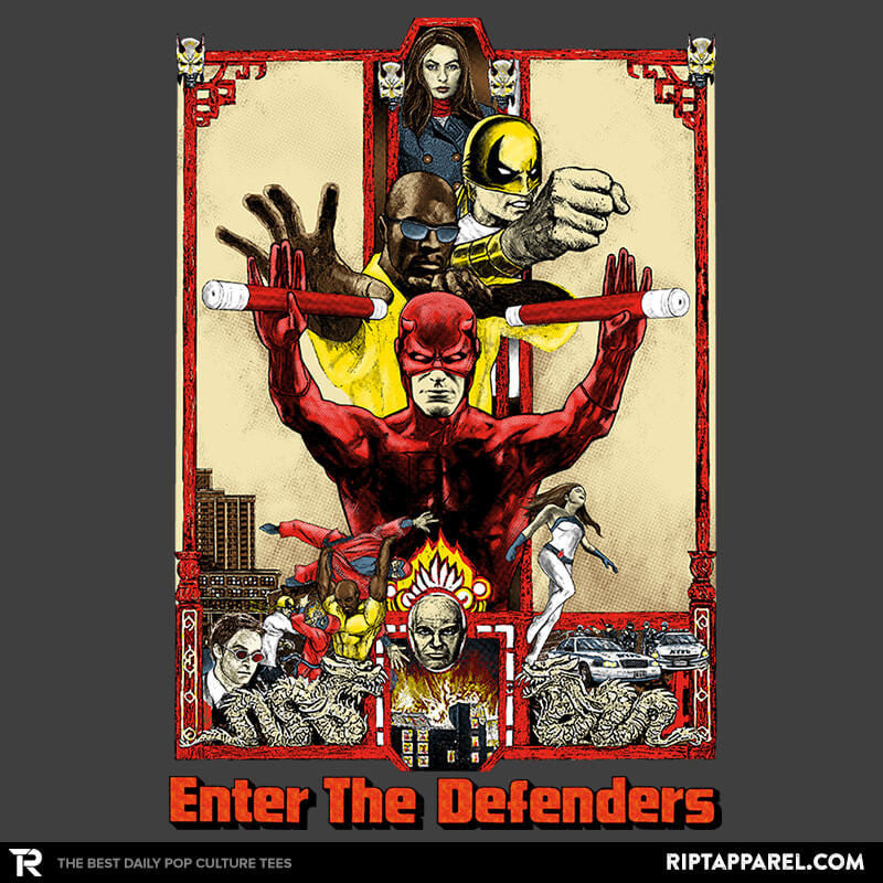 Enter The Defenders Reprint - RIPT Apparel