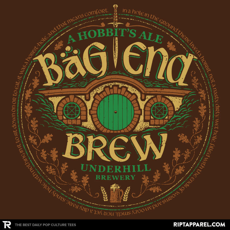 Bag End Brew - Crestfest - RIPT Apparel
