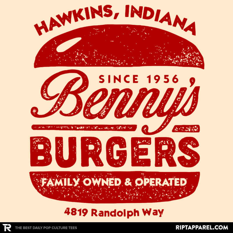 Benny's Burgers - Crestfest - Collection Image - RIPT Apparel