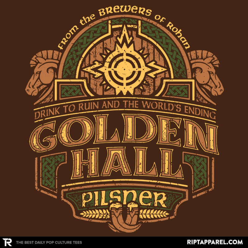 Golden Hall Pilsner - Crestfest - RIPT Apparel