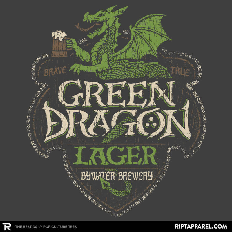 Green Dragon Lager - Crestfest - RIPT Apparel