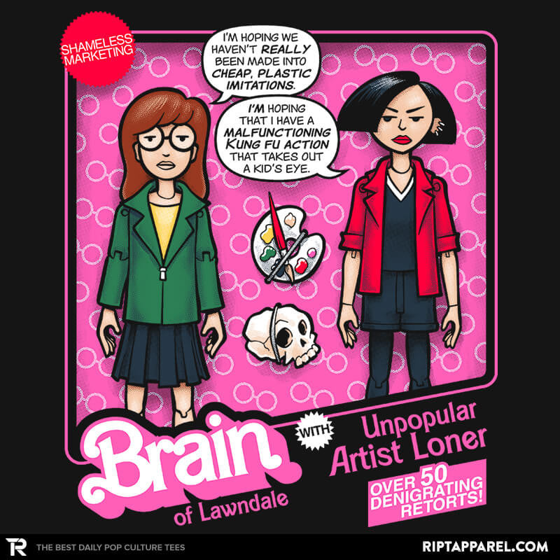 Brain of Lawndale Doll Exclusive - Collection Image - RIPT Apparel