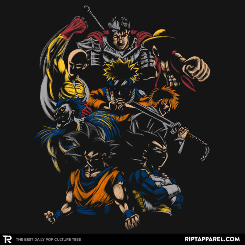 Invincible Anime Team - Collection Image - RIPT Apparel