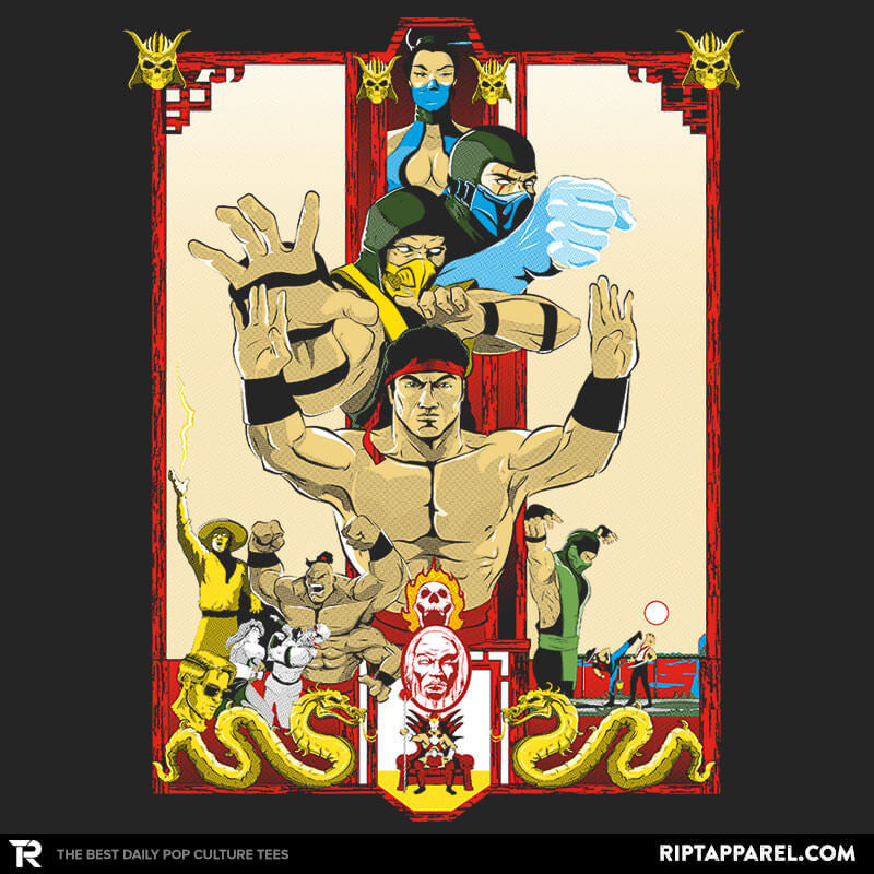 Enter Kombat - Collection Image - RIPT Apparel