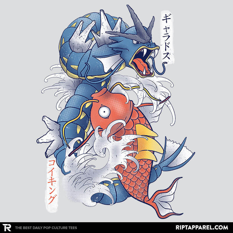 Koi Fish Evolution - RIPT Apparel