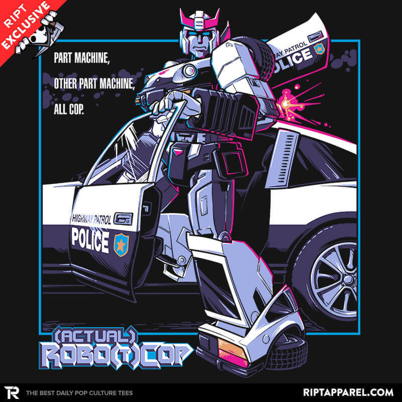(Actual) Robo(t)Cop Exclusive - RIPT Apparel
