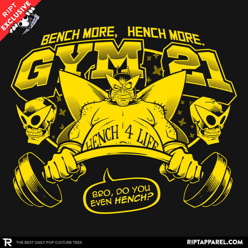 Gym 21 Exclusive - RIPT Apparel
