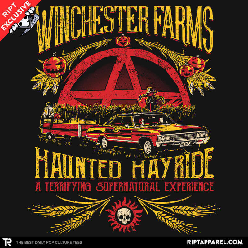 Winchester Farms Haunted Hay Ride Exclusive - RIPT Apparel
